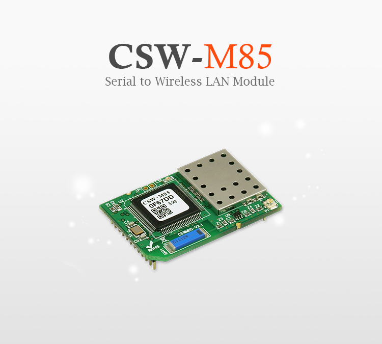 uart to wlan tcp module csw m85